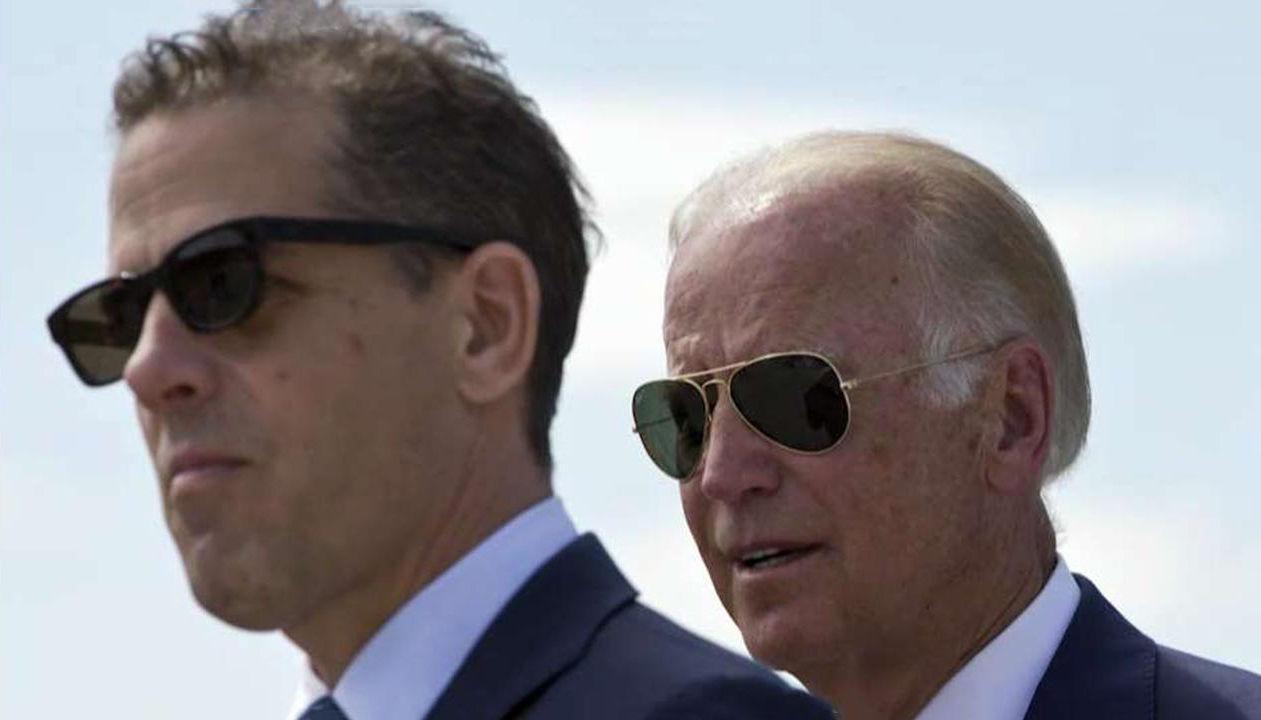 Joe and Hunter Biden. Photo courtesy of Fox News.
