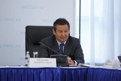 D. Abulgazin is a high-ranking NOC bureaucrat.